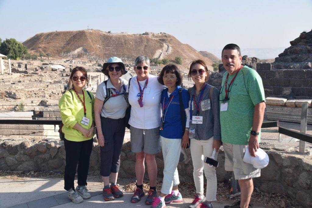 November 2019 Biblical Israel Tours group with John DeLancey