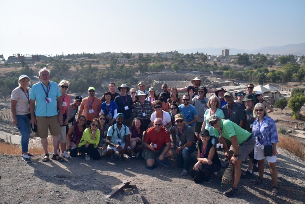 Beth Shean Biblical Israel Tours with John DeLancey