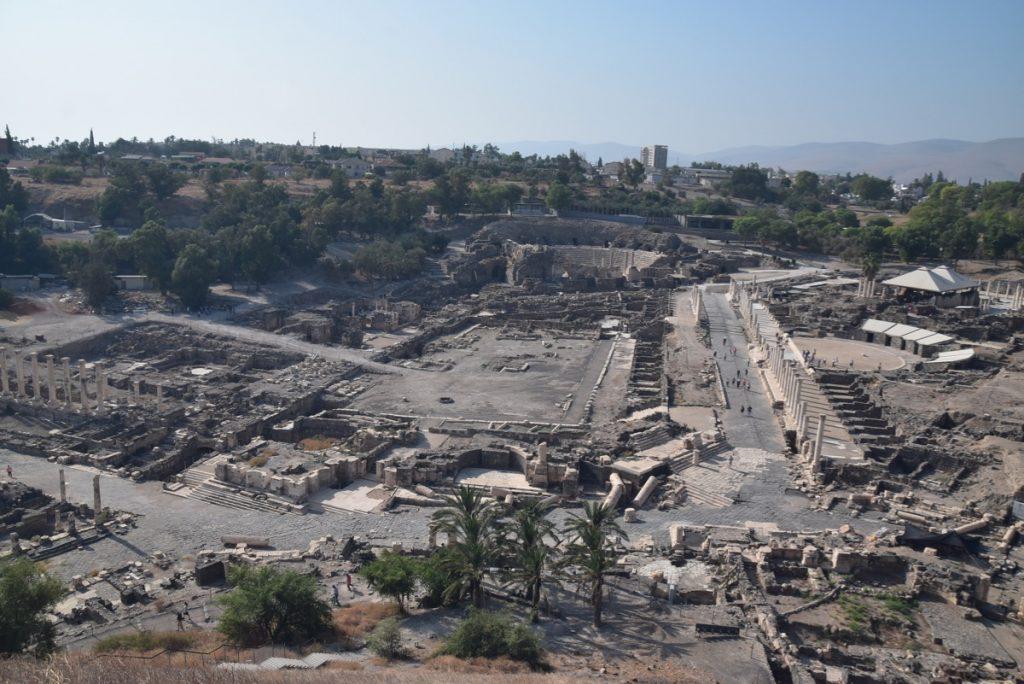 Beth Shean Nov 2019 Biblical Israel Tour with John DeLancey
