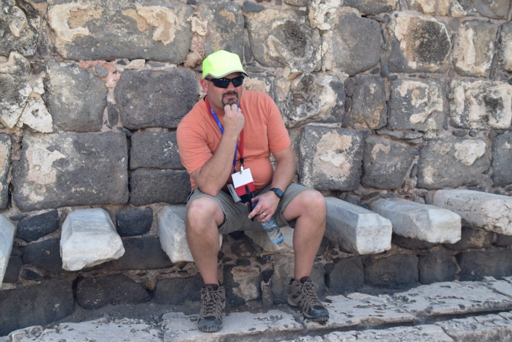 Beth Shean Nov 2019 Biblical Israel Tour with John DeLancey