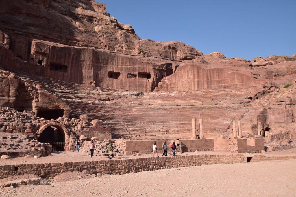 Petra Jordan Nov 2019 Israel Tour with John DeLancey and BIMT