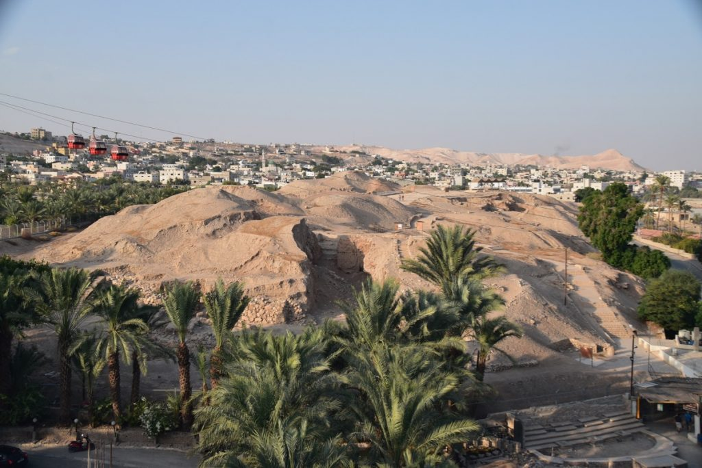 Jericho Nov 2019 Biblical Israel Tour with John DeLancey