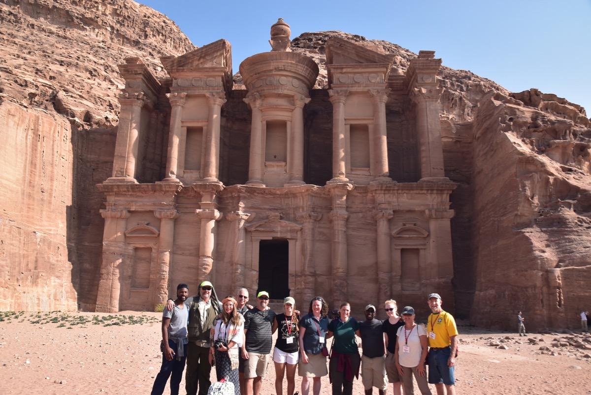 Monastery Tomb, Petra