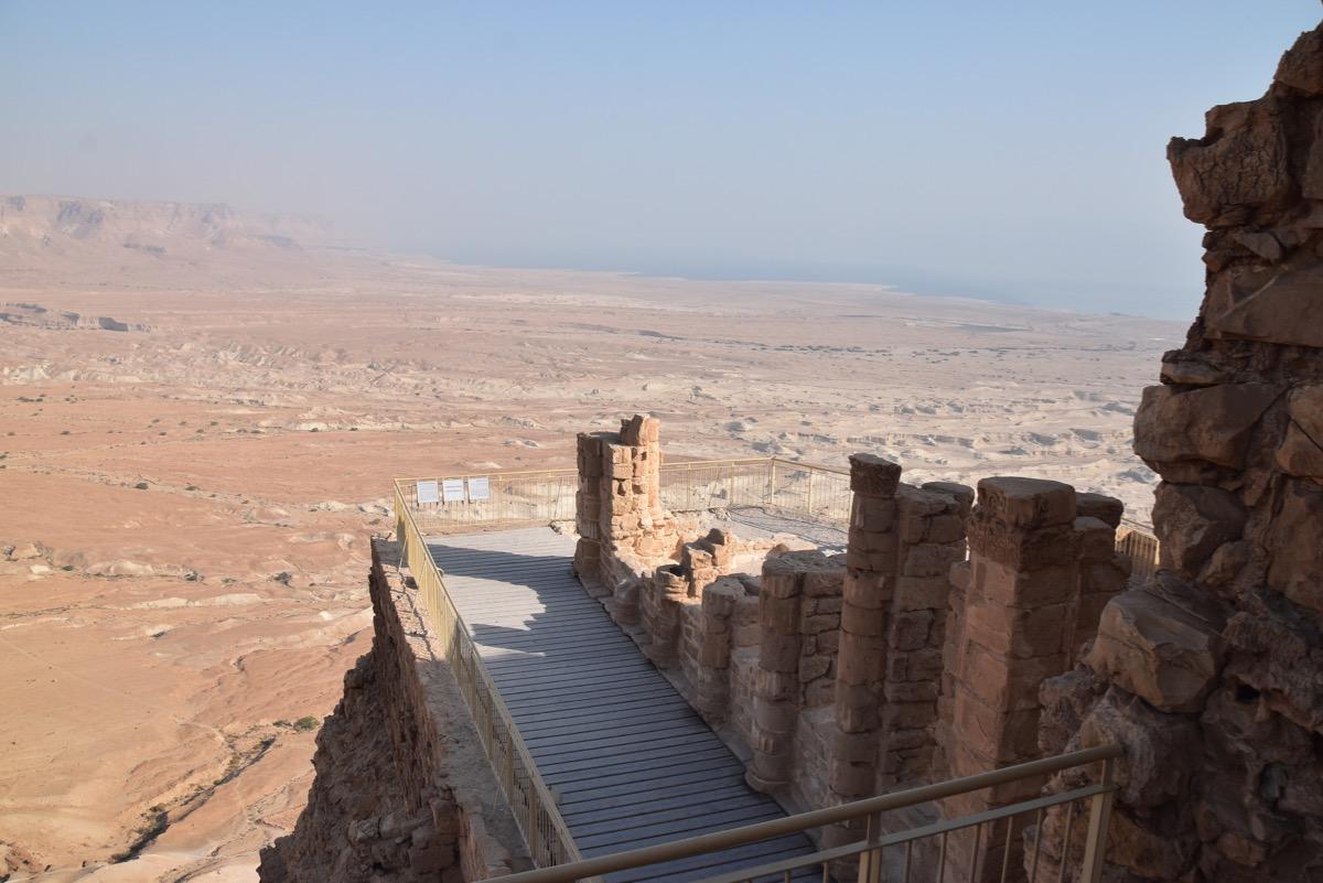 Masada northern Palace