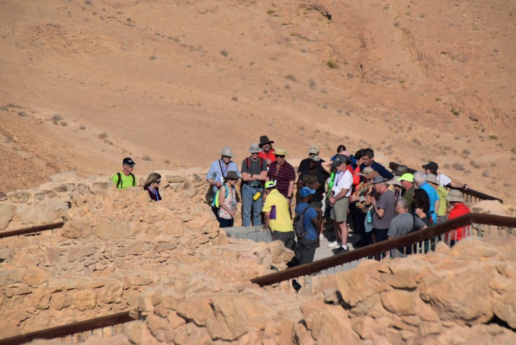 Masada Biblical Israel Tours with John DeLancey