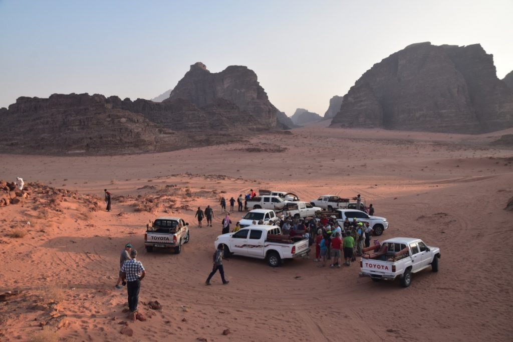 Wadi Rum Jordan Nov 2019 Israel Tour with John DeLancey and BIMT