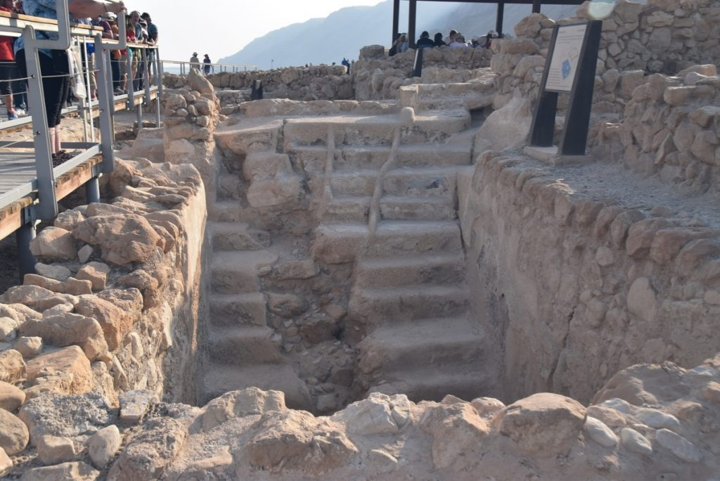 Qumran Nov 2019 Israel Tour with John DeLancey of Biblical Israel Ministries & Tours