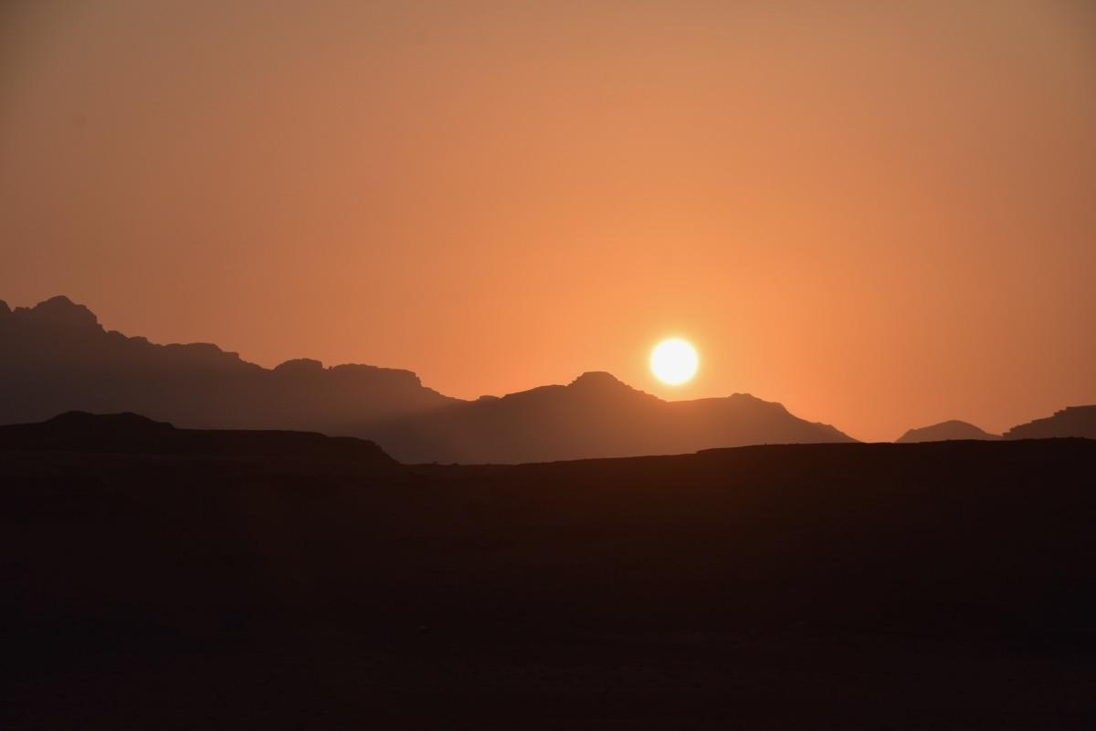 Wadi Rum Sunset, Jordan