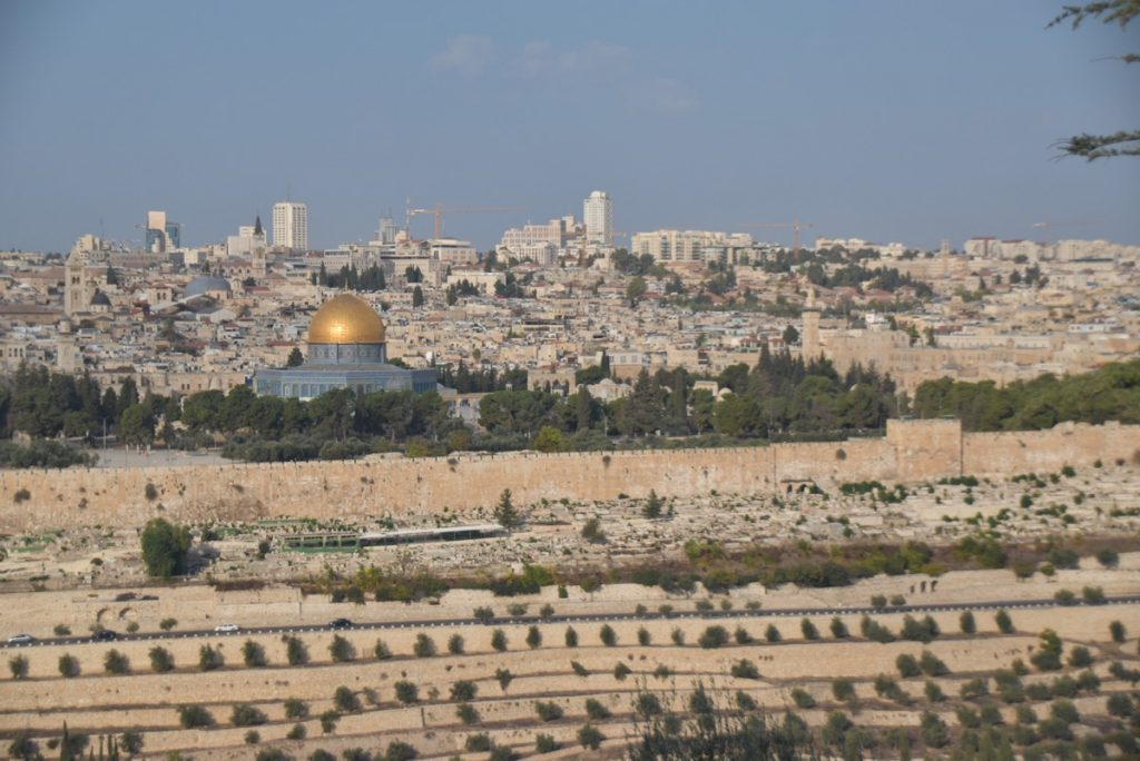 Jerusalem Old City Nov 2019 Biblical Israel Tour with John DeLancey