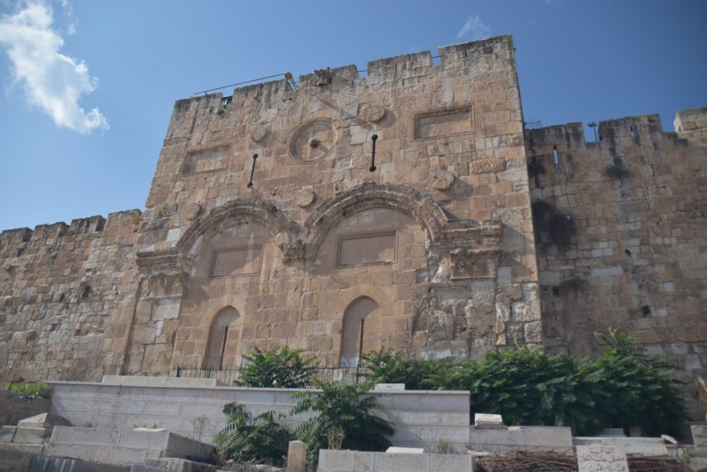 Old City Eastern Gate Jerusalem Nov 2019 Biblical Israel Tour with John DeLancey