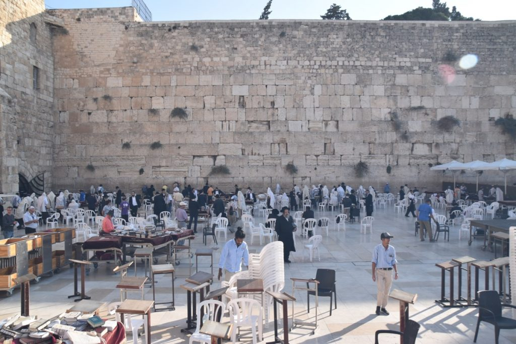 Western Wall Jerusalem Nov 2019 Israel Tour with John DeLancey