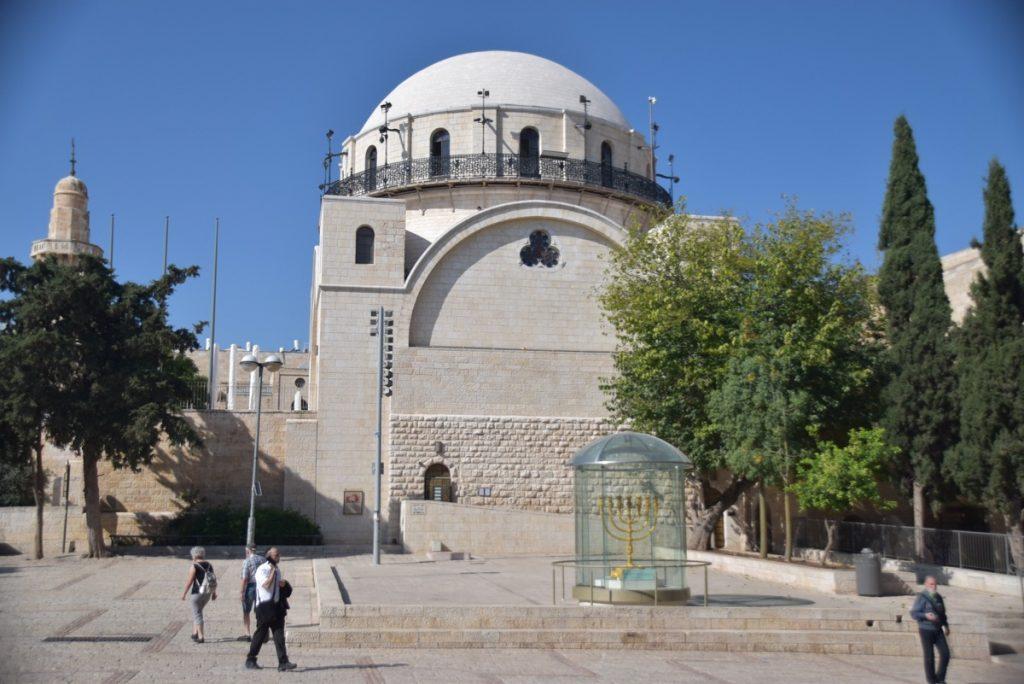 Hurva Jerusalem Nov 2019 Israel Tour with John DeLancey