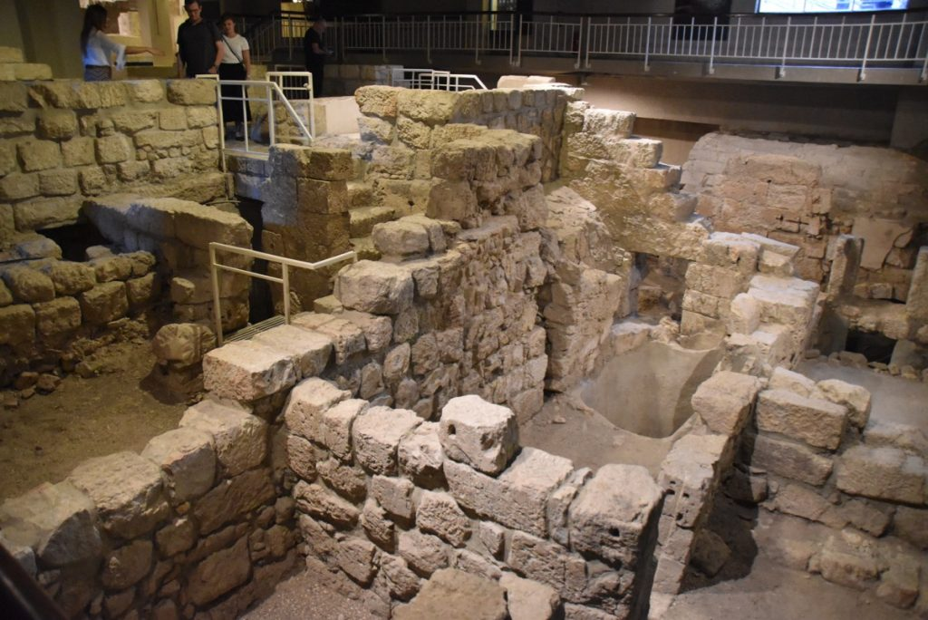 Herodian Mansion Jerusalem Nov 2019 Israel Tour with John DeLancey