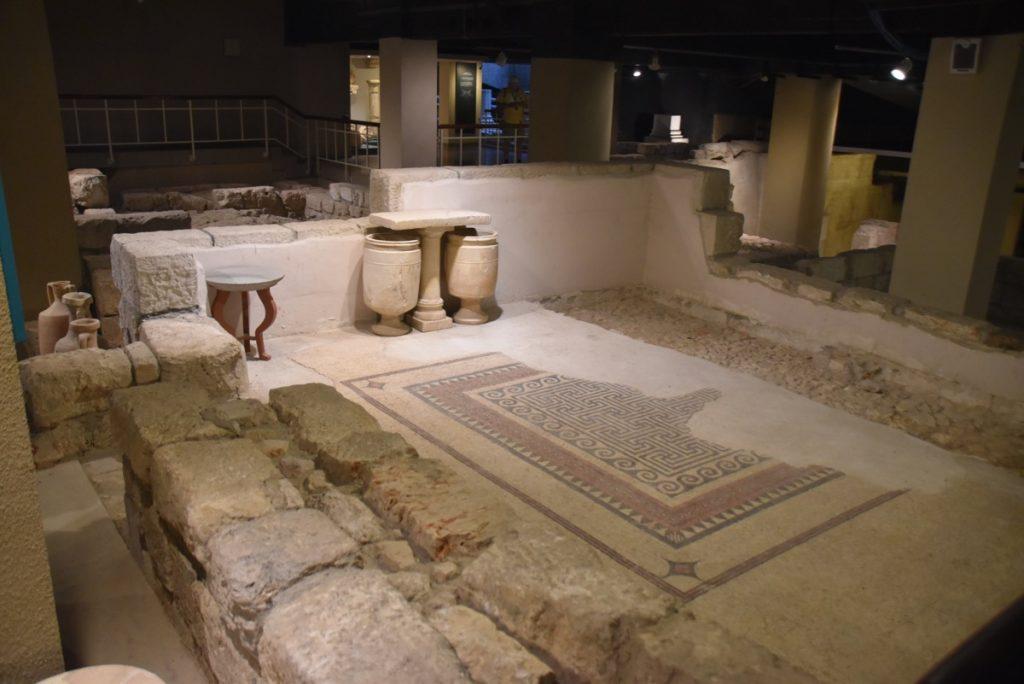 Herodian Mansion Jerusalem Nov 2019 Israel Tour with John DeLancey