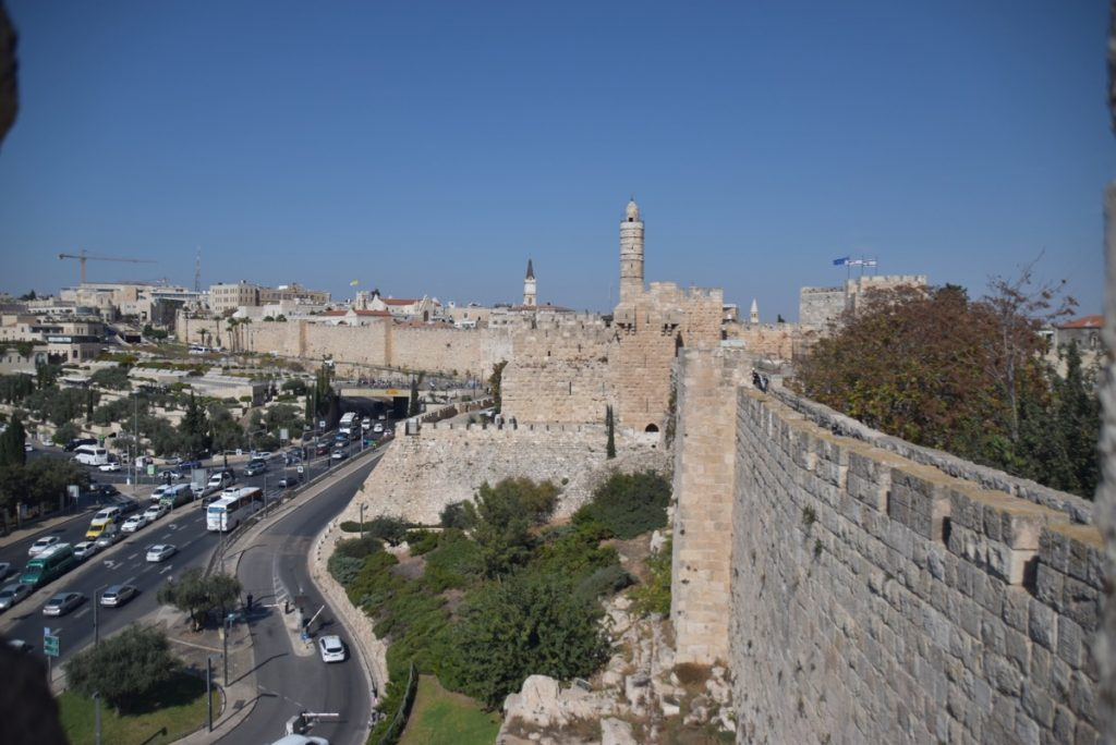Rampart Walk Jerusalem Nov 2019 Israel Tour with John DeLancey