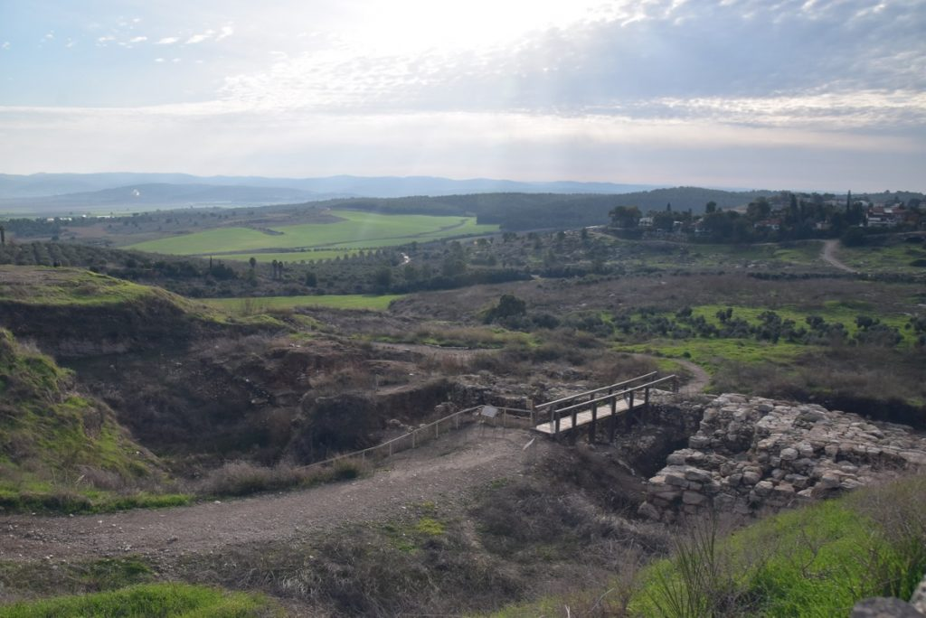 Gezer Israel January 2020 Israel Tour with John DeLancey