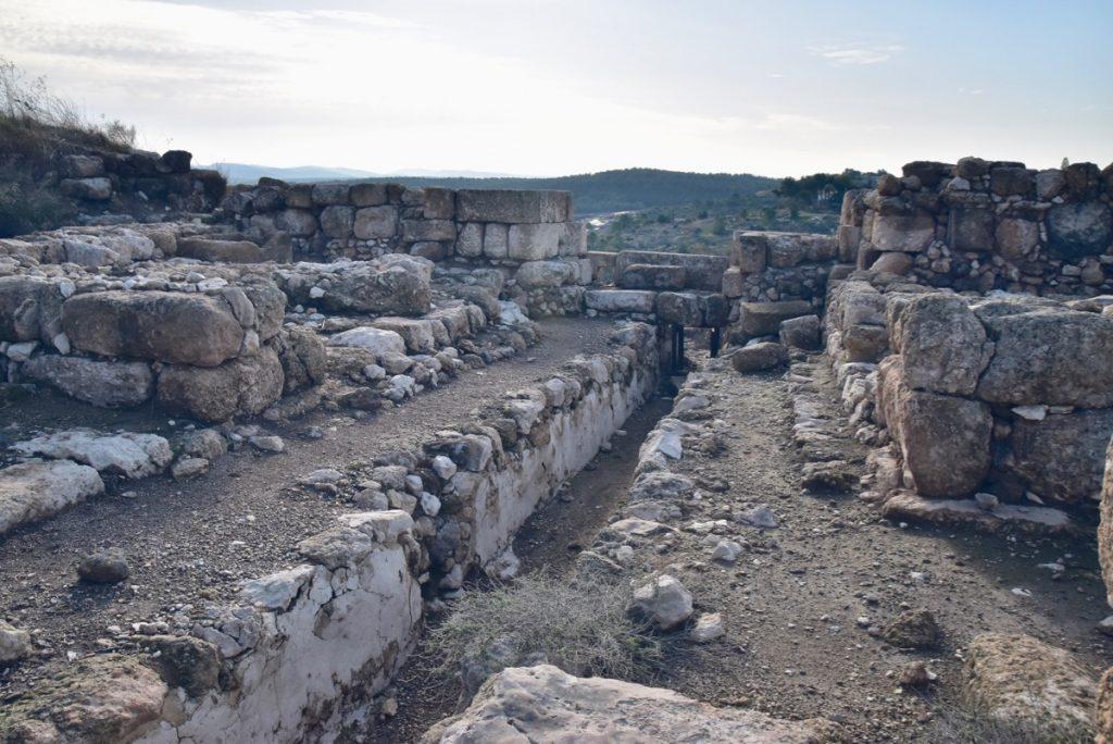 Gezer Israel January 2020 Israel Tour with John DeLancey