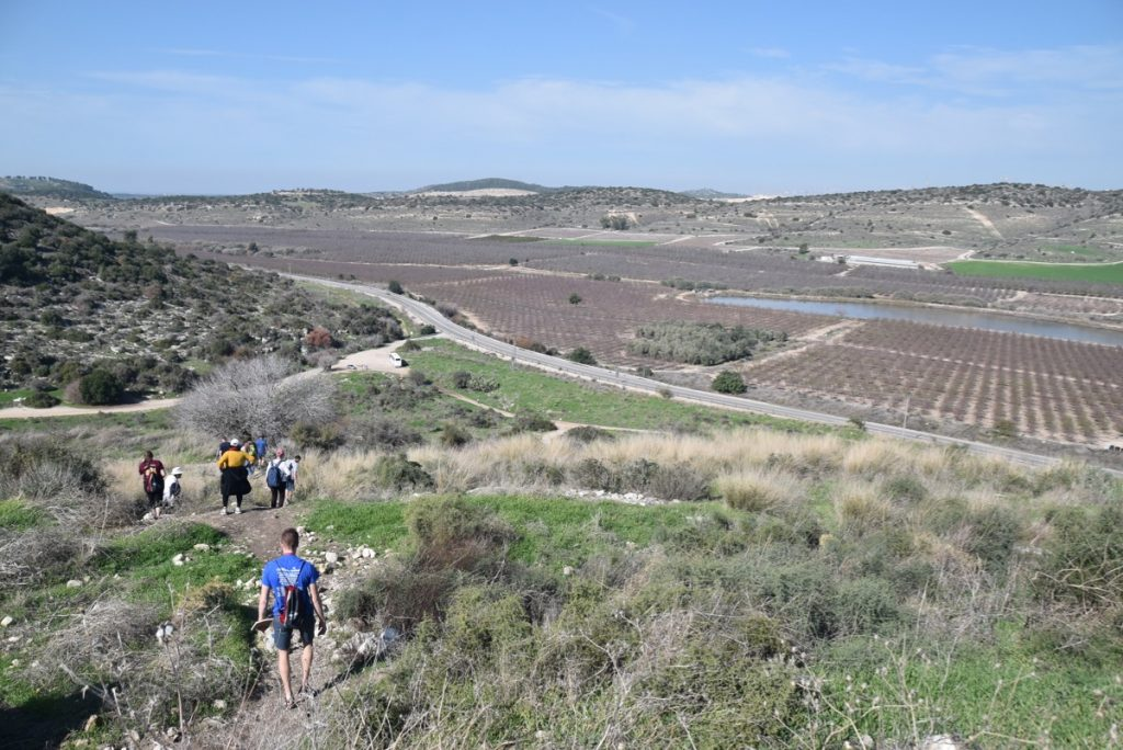 Socoh Elah Valley January 2020 Israel Tour with John DeLancey