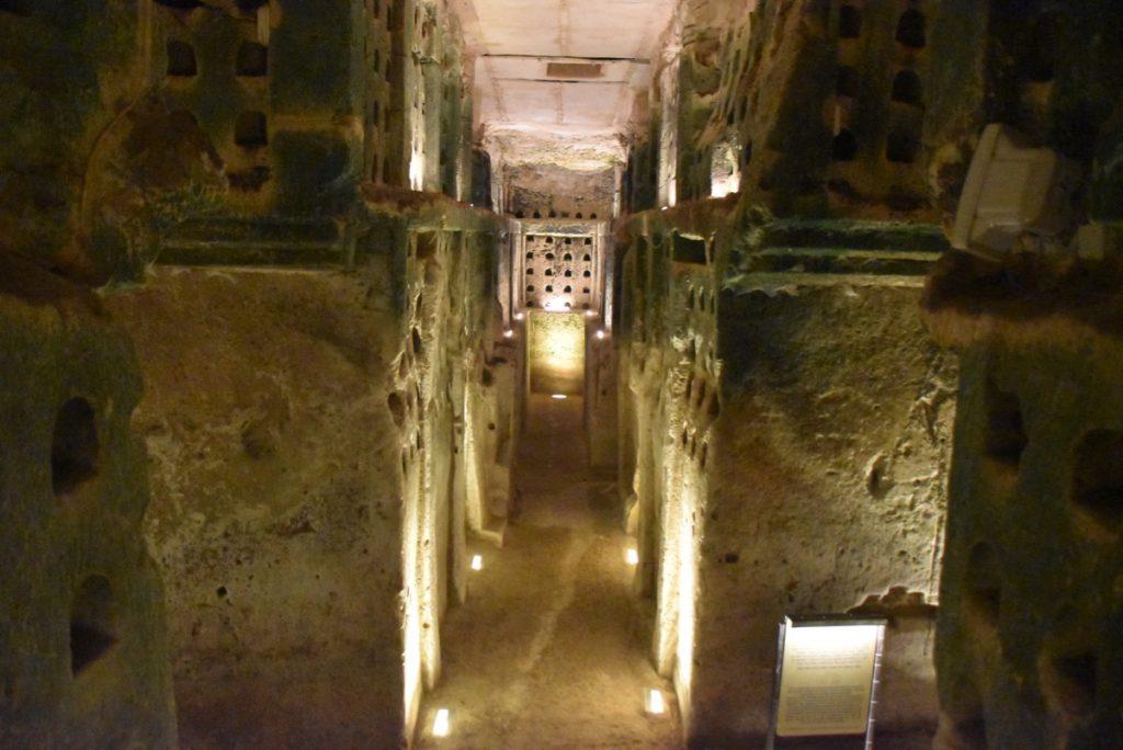 Beit Guvrin columbarium January 2020 Israel Tour with John DeLancey