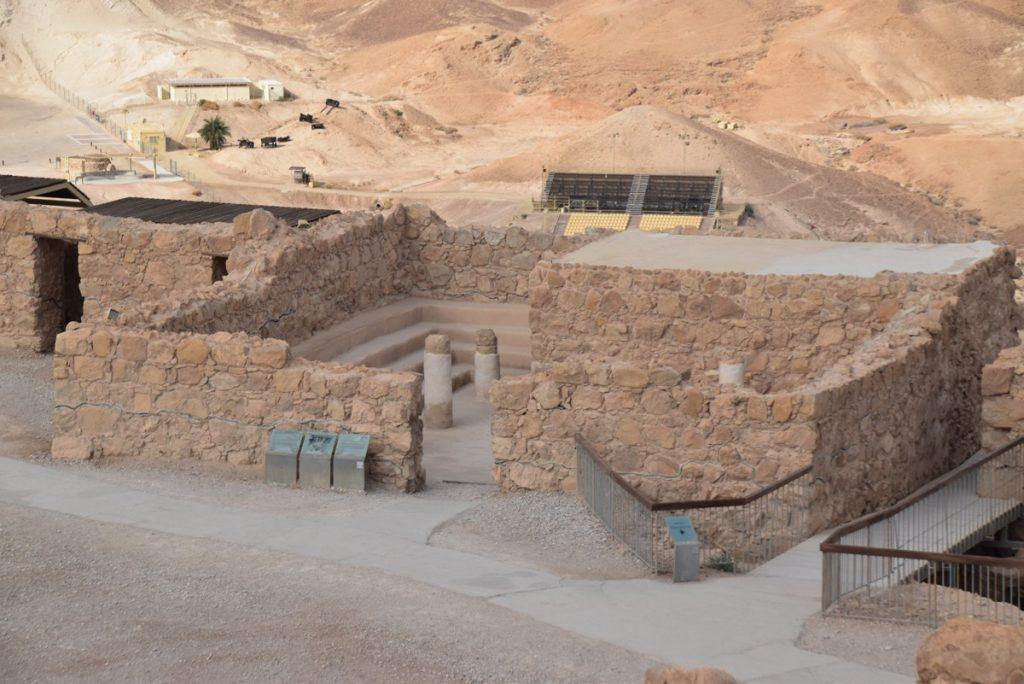 Masada synagogue January 2020 Israel Tour with BIMT and John Delancey