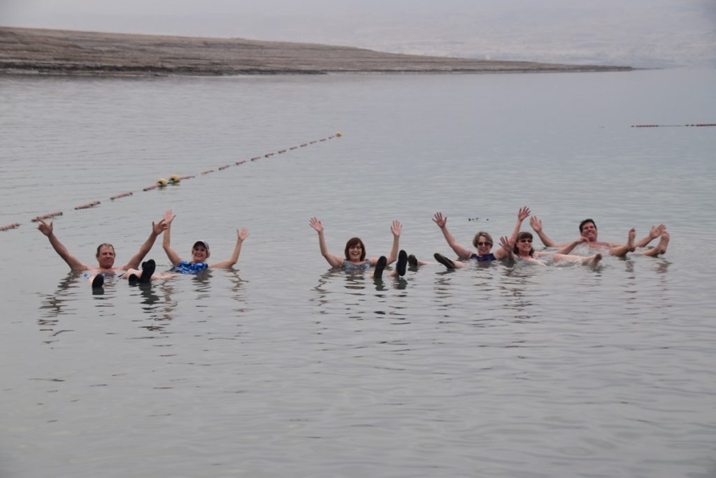 Dead Sea January 2020 Israel Tour with BIMT and John DeLancey