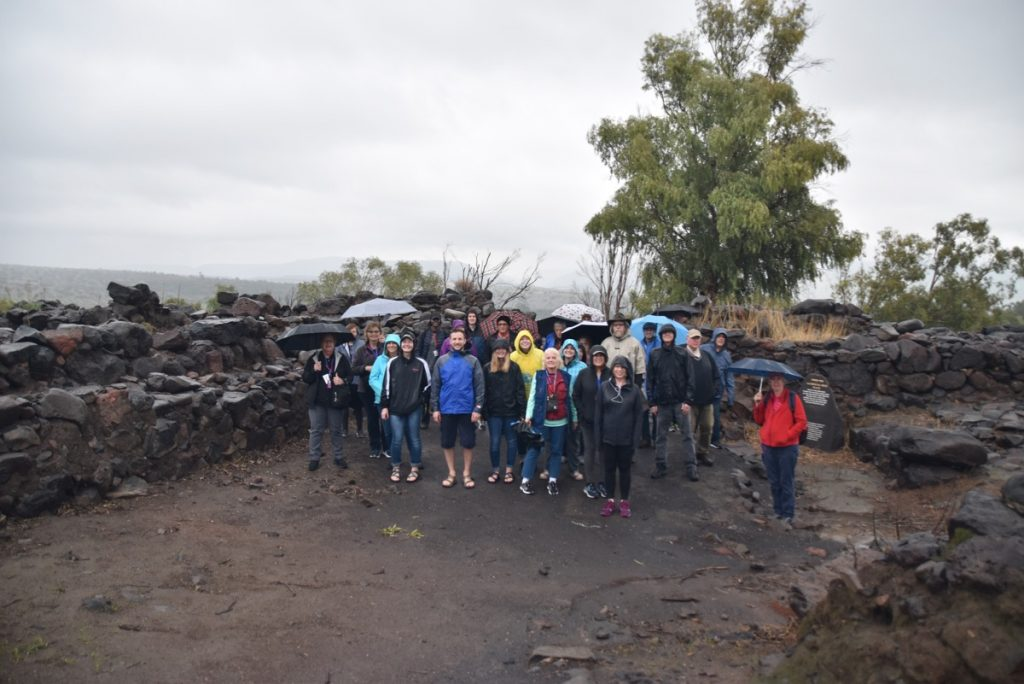 Bethsaida January 2020 Israel Tour with John DeLancey of Biblical Israel Ministries & Tours
