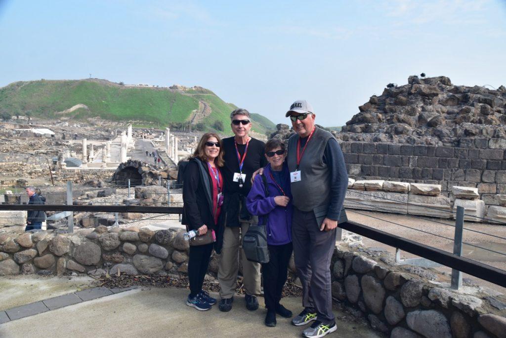 Beth Shean Jan 2020 Tour Group with John DeLancey