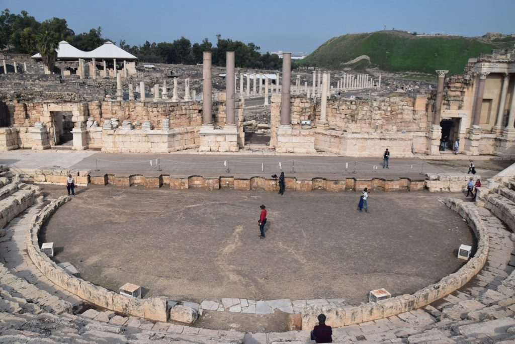 Beth Shean January 2020 Israel Tour with John DeLancey and BIMT