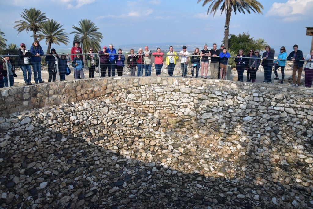 Megiddo January 2020 Israel Tour with John Delancey of Biblical Israel Ministries & Tours