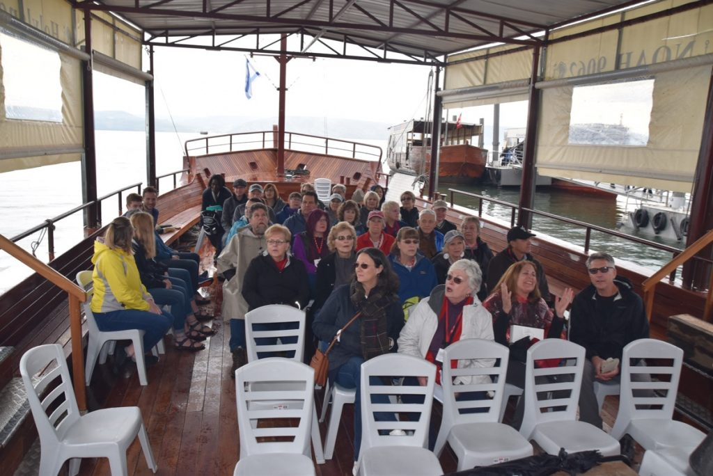 Sea of Galilee January 2020 Israel Tour with John DeLancey of Biblical Israel Ministries & Tours