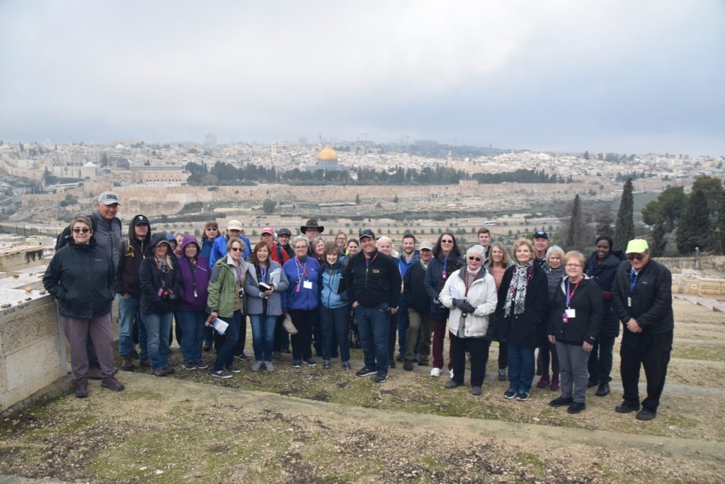 Jerusalem January 2020 Israel Tour with John DeLancey of Biblical Israel Ministries & Tours