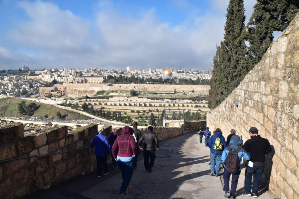 Jerusalem Old City Jan 2020 Biblical Israel Tour with John DeLancey