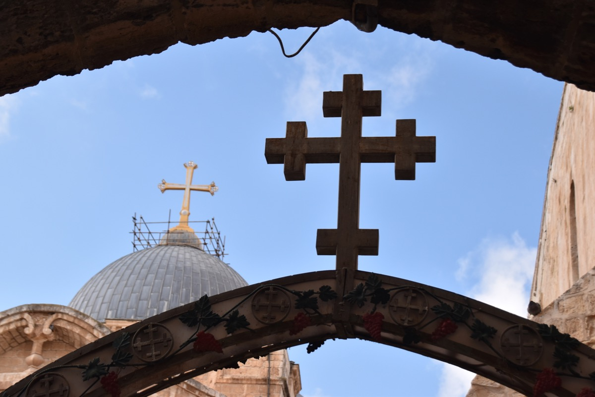 Holy Sepulcher Church Crosses