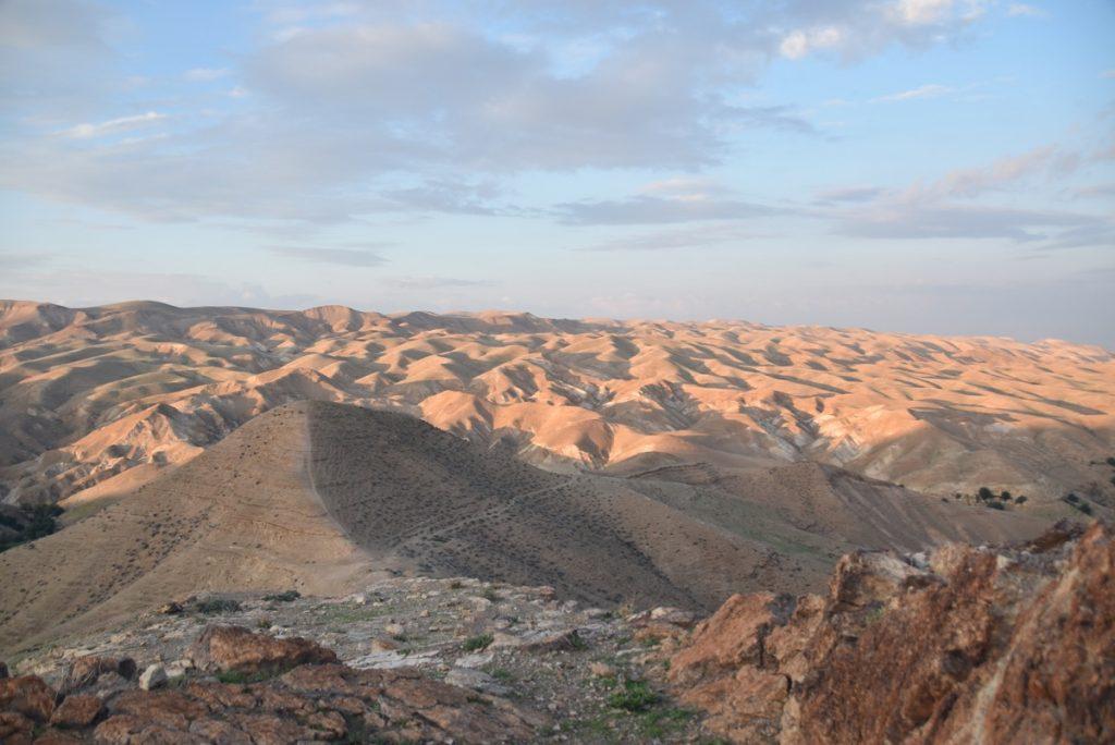Wadi Qelt Jan 2020 Israel Tour Group with John DeLancey & BIMT