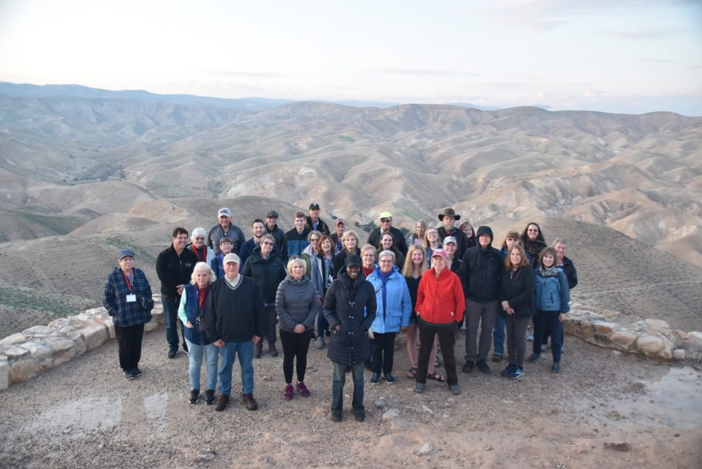 Wadi Qelt Arbel January 2020 Israel Tour with John DeLancey of Biblical Israel Ministries & Tours