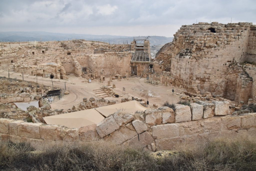 Jerusalem Herodium Jan 2020 Biblical Israel Tour with John DeLancey