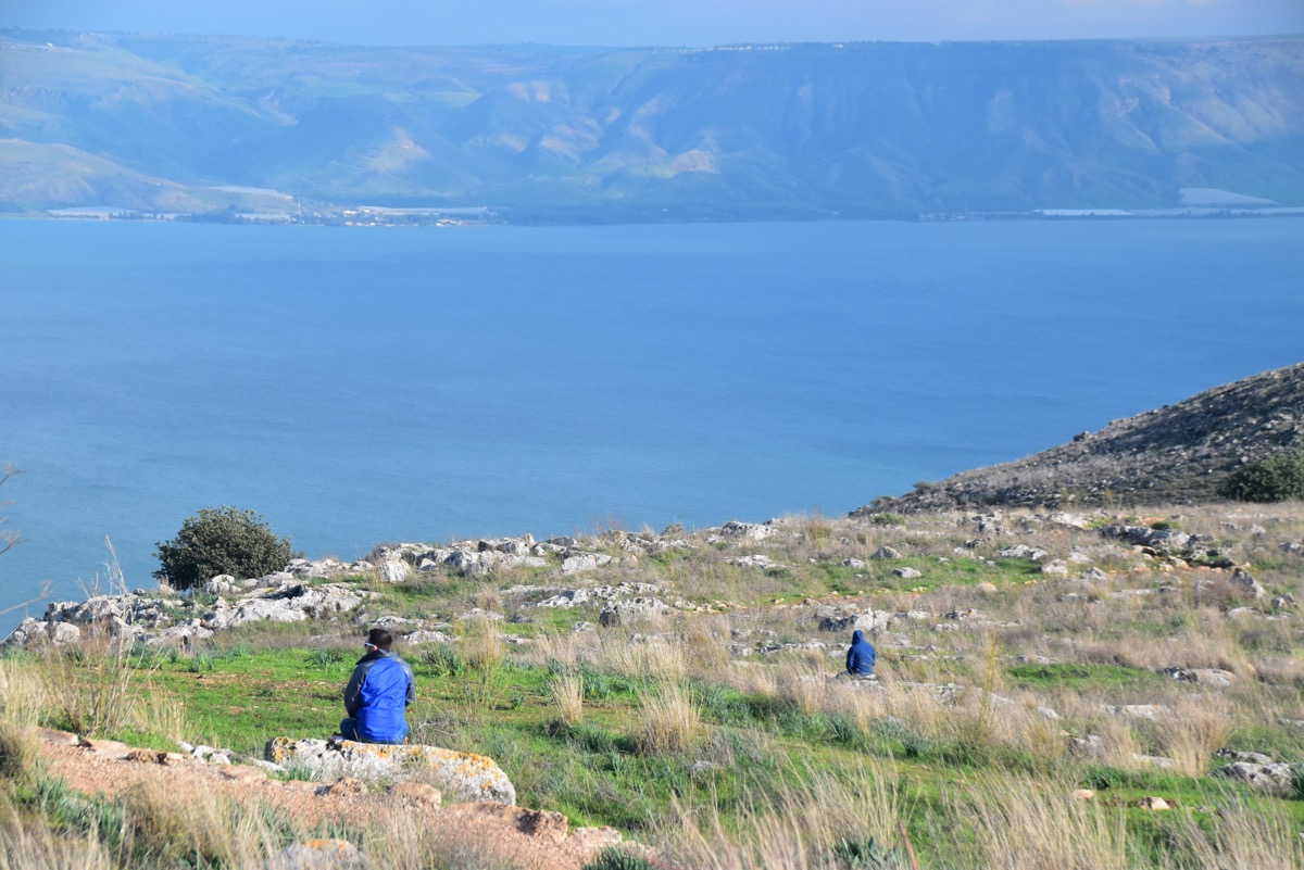 Arbel and Sea of Galilee