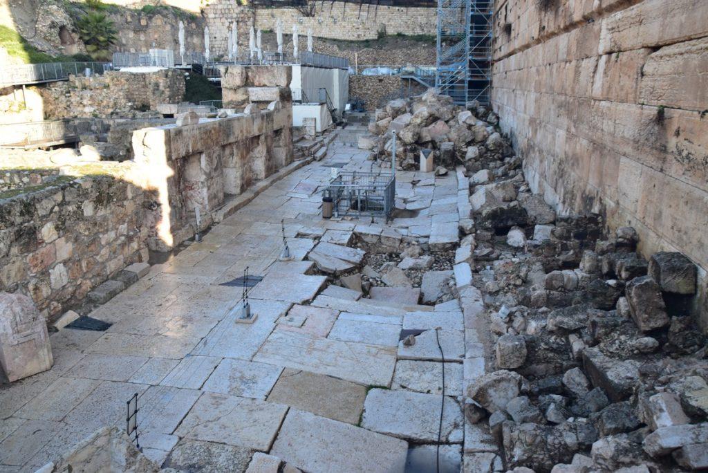 Jerusalem south wall Jan 2020 Israel Tour with John DeLancey