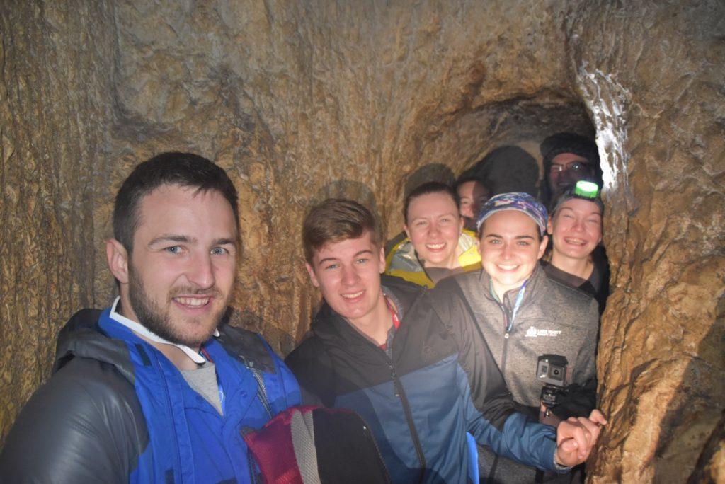 Jerusalem Hezekiah tunnel Jan 2020 Israel Tour with John DeLancey