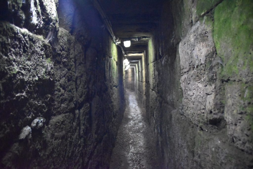 Jerusalem Drainage tunnel Jan 2020 Israel Tour with John DeLancey