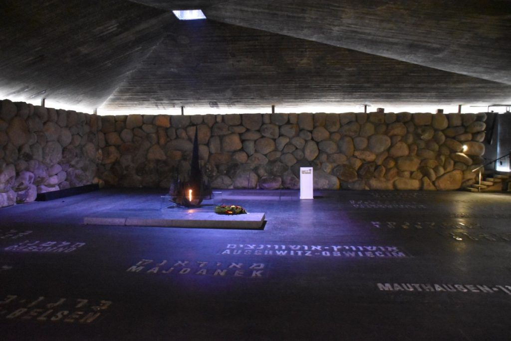 Jerusalem Yad Vashem Jan 2020 Israel Tour with John DeLancey