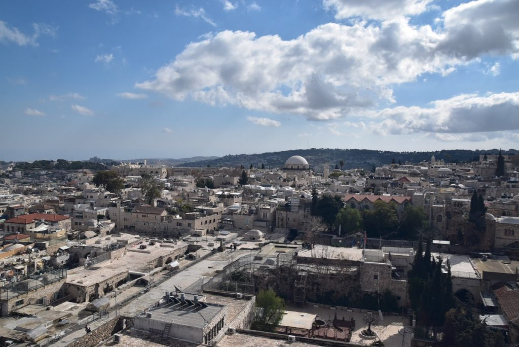 Jerusalem Old City January 2020 Biblical Israel Tour with John DeLancey