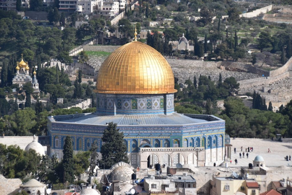 Jerusalem Old City Dome of the Rock January 2020 Biblical Israel Tour with John DeLancey