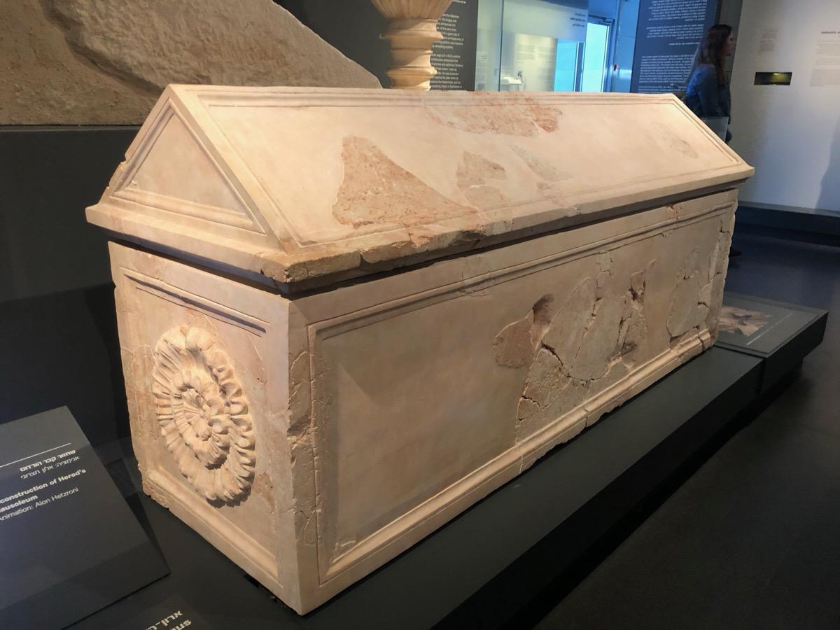 King Herod's sarcophagus