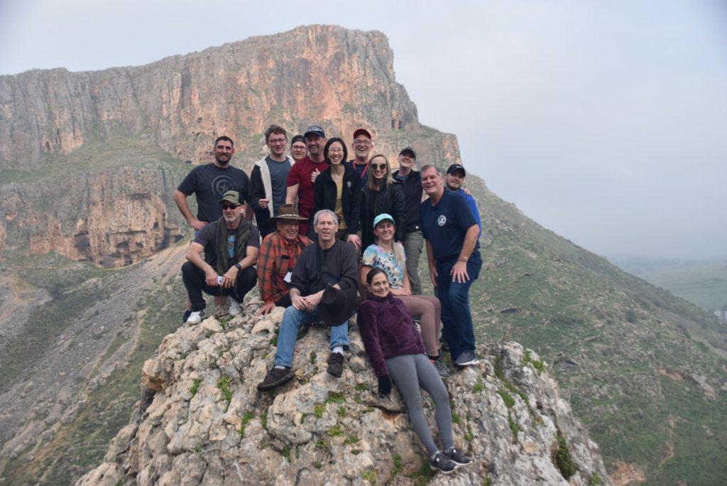Arbel Feb 2020 Israel Tour Group, with John DeLancey
