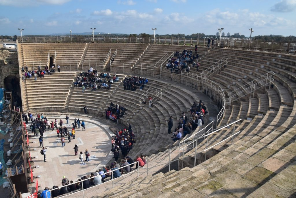 Caesarea Feb 2020 Israel Tour with Egypt John DeLancey