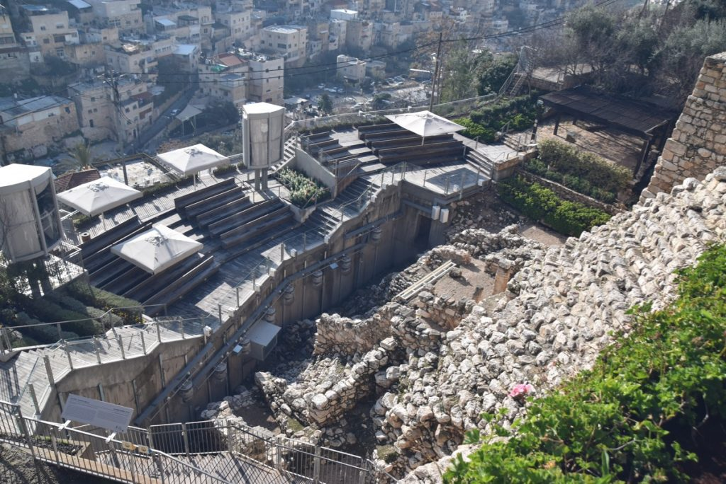 City of David Feb 2020 Israel Tour with John DeLancey BIMT