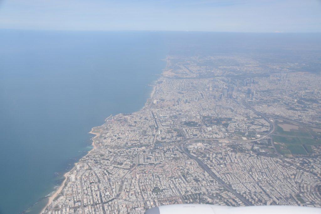 Tel Aviv coastline Feb 2020 Israel Tour with John DeLancey