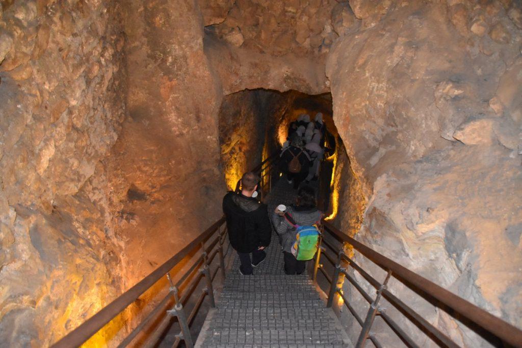 Warren's shaft Feb 2020 Israel Tour with John DeLancey BIMT