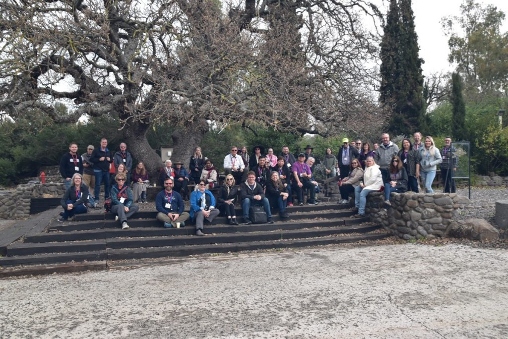 Katzrin Feb 2020 Israel Tour Group, with John DeLancey